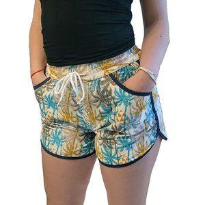 Women Fashion Beach Shorts, Swim Trunks w Pockets